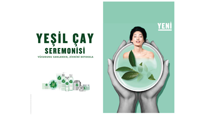 the body shop yesil cay seremonisi