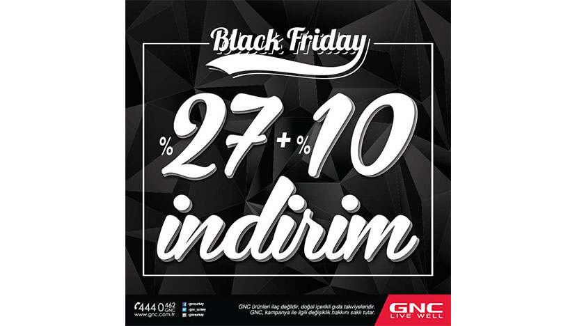 gnc black friday indirimi