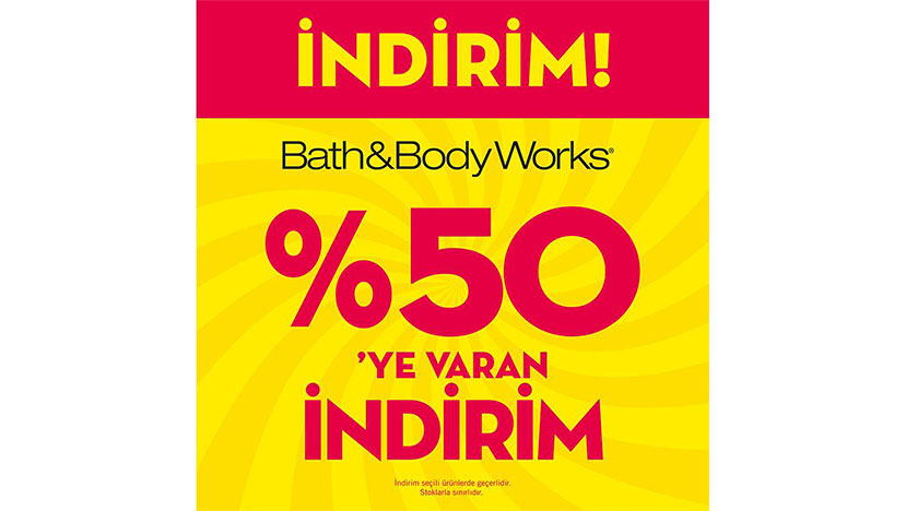 bath body works indirim