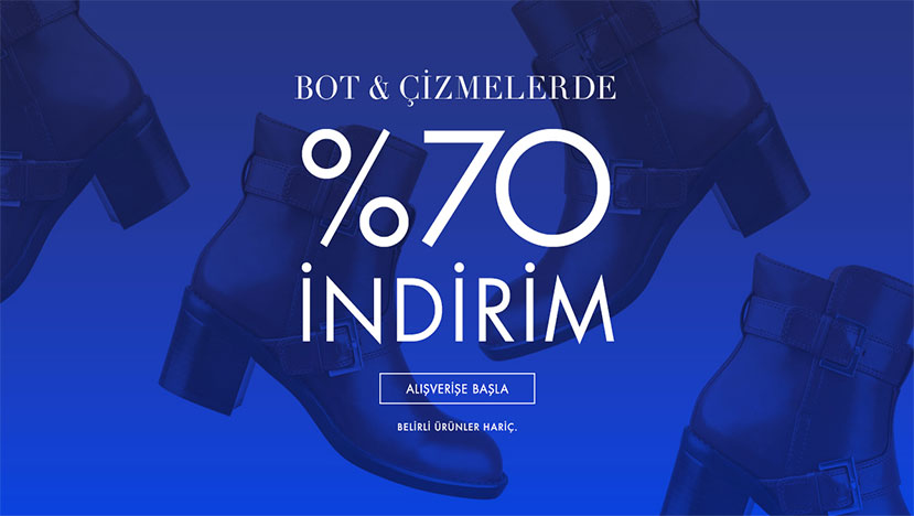 nine west bot cizme indirim