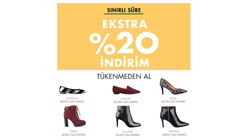 nine west ekstra indirim