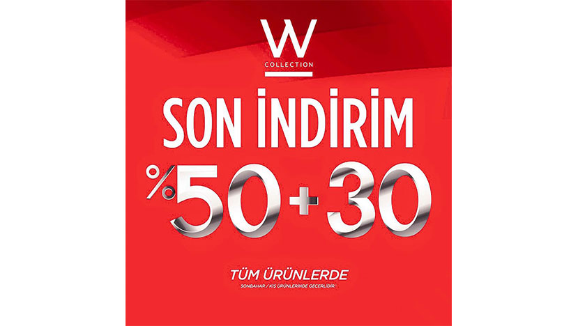 w collection indirim