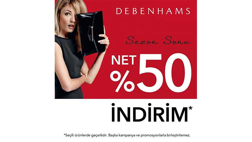 debenhams sezon sonu
