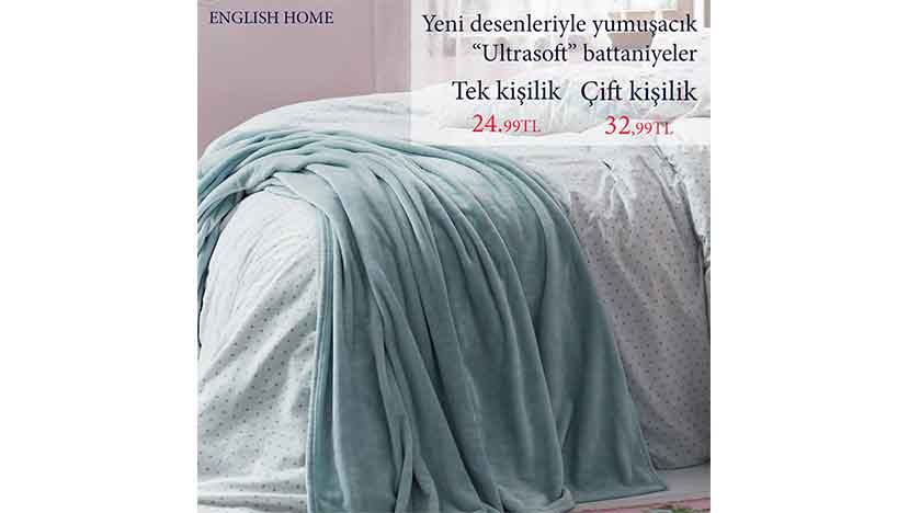 english home ultra soft battaniye