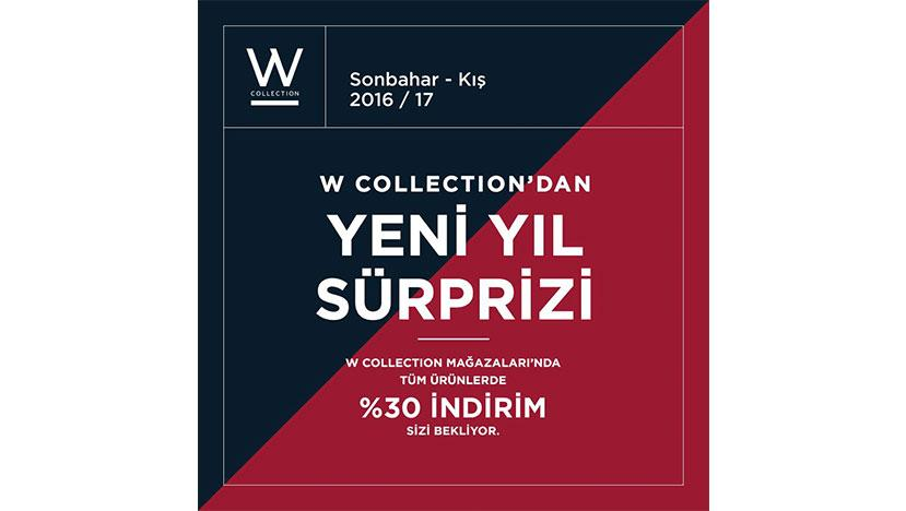 w collection yilbasi