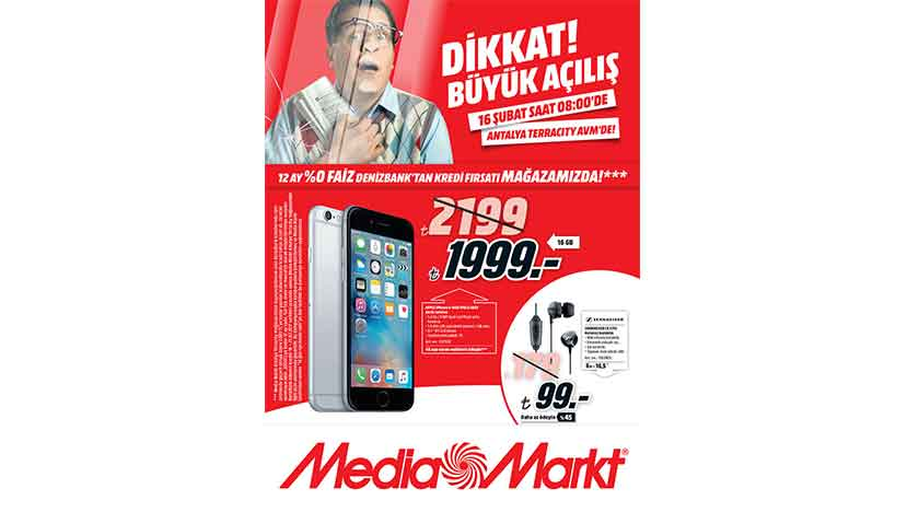 media markt terracity 16 subat brosur
