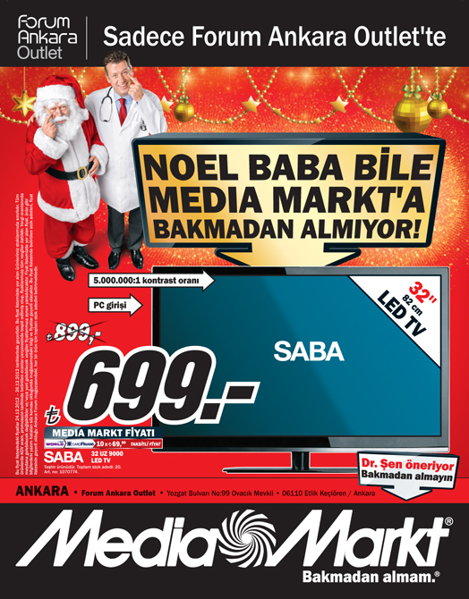 Media Markt Forum Ankara Outlet 24-26 Aralık 2012 ...