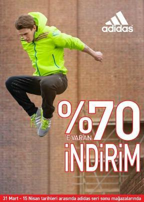 adidas outlet 70 indirim