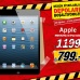 Apple MD545TU/A iPad Mini 64GB Wi-Fi + 4G Media Markt'ta 799 TL