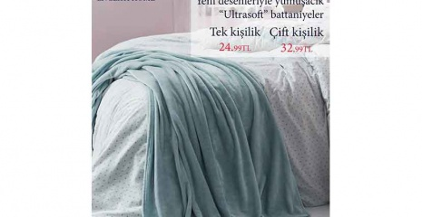 English Home Ultra Soft Battaniyelerde İndirim